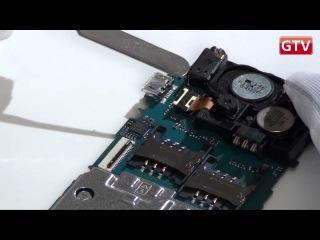 LG A290 - как разобрать телефон и из чего он состоит