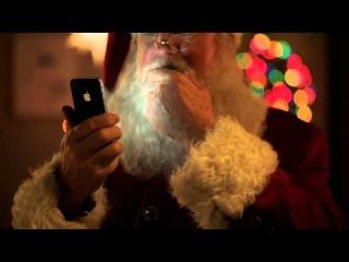 Новый рекламный ролик Apple iPhone 4S с Санта-Клаусом.