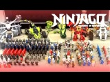 My New LEGO Ninjago Ninja Army Collection