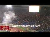La Curva Sud che entra allo stadio a partita iniziata per protesta contro la Tessera del Tifoso