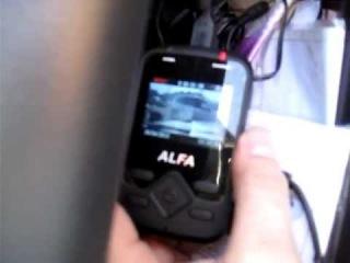 AvtoVision ALFA  Установка в автомобиле.