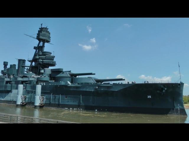 Ciekawostki 17 - USS Texas - zwiedzamy amerykański okręt wojenny
