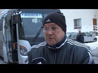интервью главный тренер ХК Волга С М  Наумов капитан команды  Виталий Макаров