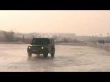 G55 AMG на льду. Смотреть онлайн - Видео - bigmir)net