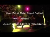 Ram-Zet @ Metal Crowd 2012