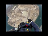 GoPro NAVY SEAL Helmet Cam SKYDIVE Parachute Jump AWESOME Free Fall!Я душу вкдываю в полет х))