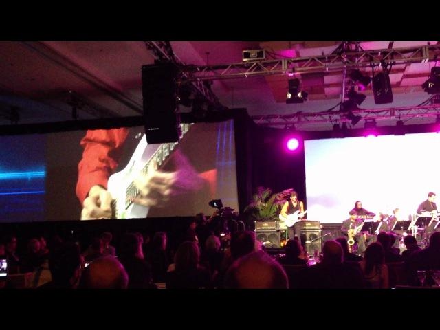 Steve Vai - 'Tender Surrender' live at the 2012 TEC Awards during Winter NAMM