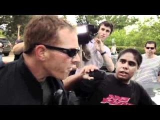 Tent Embassy protestors and PM's security assaulted by riot police