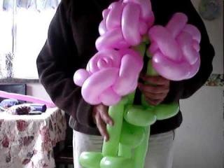 Твистинг. Букет роз из шаров. Видео мастер-класс