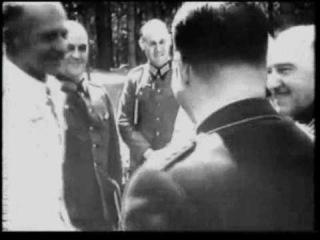 Hitler and Generals at Wolfsschanze (Aug 1943)