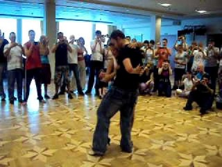 Bachata workshop tricks and dips with Lee and Daniela