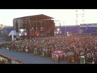 Red Hot Chili Peppers - Californication (Tuborg GreenFest 20.07.12, St. Petersburg)