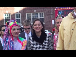 Marion Cotillard -- Hasty Pudding Woman of the Year (Clip 1)