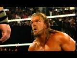 WWE Triple H (Champ) vs John Cena WWE Campionship