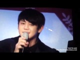 [Fancam] 1224 making Cake's title - only Yoseob & Junhyoung
