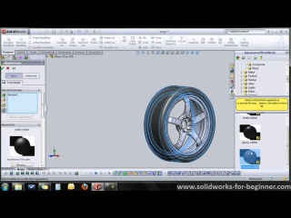 SolidWorks Tutorial: Simple Tire