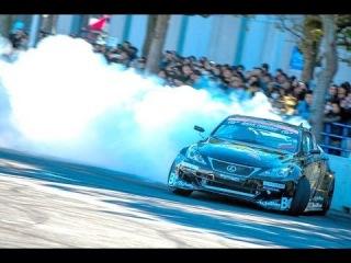 Один из лучших японских дрифт-пилотов Дайго Сайто демонстрирует возможности своего 1200-сильного Lexus IS-C!