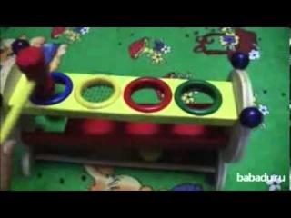 Горка-шарики Мир деревянной игрушки
