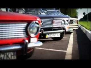 Старые отечественные авто, тюнинг. Ретро выставка.
