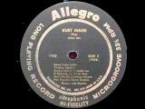 Jazz Piano Trio Kurt Maier, 1956 - Santa Lucia, Rumba Tamba, A Media Luz