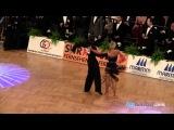 Ferdinando Iannaccone - Yulia Musikhina, GOC 2010 Stuttgart, IDSF grand slam latin, 6.round - rumba