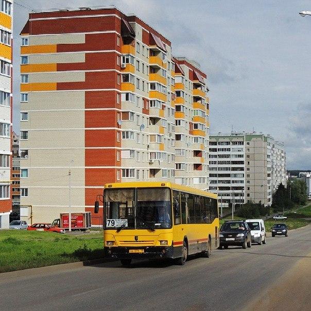 Автобус 79 маршрута, первый