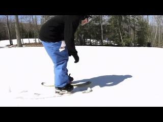 RVL8 KTP 101cm Skiboards with RVL8 Risers and Rocker Snowboard bindings
