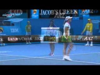 AO 2011 R1 Justine Henin vs Sania Mirza 1/16