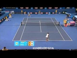 AO 2011 R1 Justine Henin vs Sania Mirza 10/16