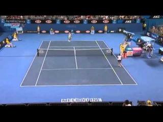AO 2011 R1 Justine Henin vs Sania Mirza 14/16