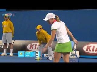 AO 2011 R1 Justine Henin vs Sania Mirza 3/16