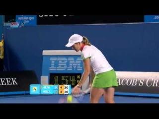AO 2011 R1 Justine Henin vs Sania Mirza 12/16