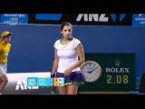 AO 2011 R1 Justine Henin vs Sania Mirza 16/16