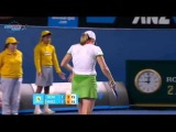 AO 2011 R1 Justine Henin vs Sania Mirza 15/16