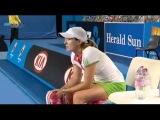 AO 2011 R1 Justine Henin vs Sania Mirza 4/16
