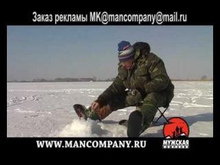 МК: Озеро Алабуга ловля окуня на мормышку зимой 03/3
