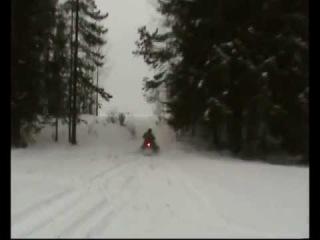 Снегоход Рысь Зима 2012 часть2