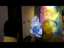 Valeria Lukyanova Amatue 21 interview for Chinese TV