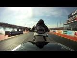Black Seven Nitro Racing - Santa Pod 2012 - 1/4 Final - Christian Jäger vs. Hans Olaf Olstadt