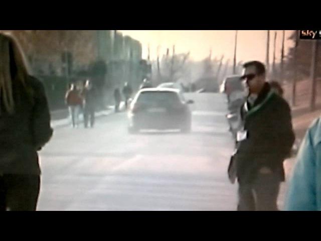 Ibra Corre Troppo: Urta una Donna con l'Auto a Milanello 22-02-2012