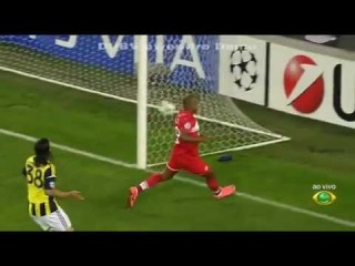 Fenerbahce 0-1 Spartak Moskova Gol Ari 29.08.2012