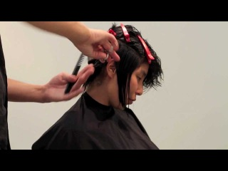 Hairstyle inspiration TOMSKOU.DK #2 Long to Short Haircut Extreme Transfomation