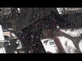 На марше в Москве собралось не более 9000 человек
