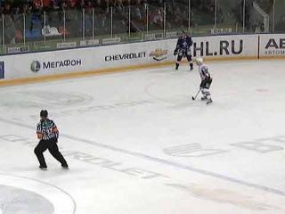 КХЛ: Московское `Динамо` победило `Динамо` из Риги - Первый канал