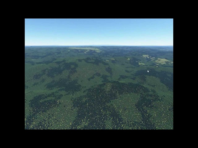 Proland - Real-time planet rendering VIII: forests (video of Eurographics 2012 paper)