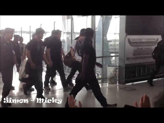 [Fancam]121024 Jaejoong at Suvarnnabhumi Airport go to HK