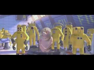 Видео к мультфильму «Корпорация монстров» (2001): Промо-ролик ре-релиза в 3D (дублированный)