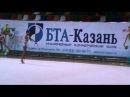 Кабисова Милана 2001г.Казань. Юные гимнастки -2011