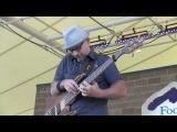 Bass solo - Natalie MacMaster, Colorado Irish Fest, Denver, CO July 10, 2010