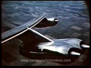 Boeing B-47 Stratojet тест на маневренность.